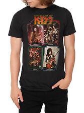 Kiss Members T-Shirt, Medium
