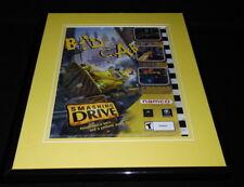 Smashing Drive 2002 XBox Gamecube  Framed ORIGINAL Vintage Advertisement