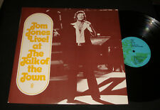 TOM JONES AUSSIE 1974 CLUB LP ‎– LIVE! AT THE TALK OF THE TOWN