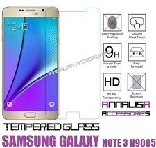 PELLICOLA IN VETRO TEMPERATO x SAMSUNG GALAXY NOTE 3 N9000 N9005 TEMPERED GLASS
