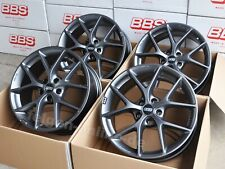 BBS SR himalaya grau 4 Felgen 8,5 x 19 Zoll SR026 für BMW 3er E90 E91 E92 E93