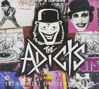 THE ADICTS - THE COMPLETE ADICTS SINGLE COLLECTION  CD NEW!