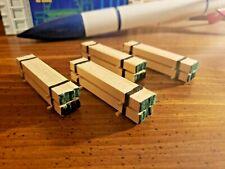 N scale handmade real wood load for flatcars/gondolas 4ct.