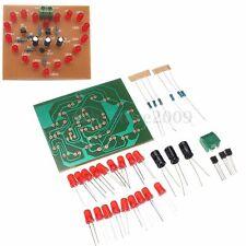 """Electronic Heart-shaped DIY Kit LED Flash Light 3-4v 6.1x6.8cm 2.4""""x2.67"""" New"""