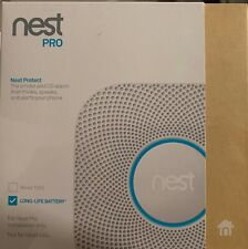 Set of 2 Nest Protect Smoke CO Alarm 2nd Generation Battery Operated BRAND NEW!!