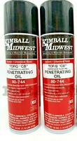 """KIMBALL MIDWEST 80744 TORQ """"CB"""" Corrosion Blasting Penetrating Oil (2 or 3 Pack)"""