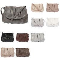 Jennifer Jones Damen Tasche Schultertasche Handtasche Umhängetasche Schwarz Grau
