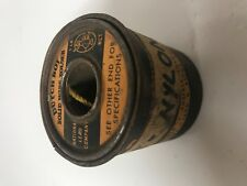 Vintage Dutch Boy Solid Wire Solder Tin ONLY - Nylon Line inside - See Pics!