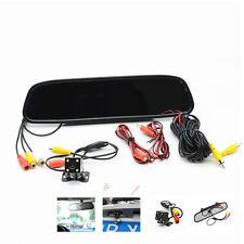 Car 4led night vision HD Camera Reverse Parking Rear View Mirror Monitor Display