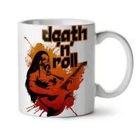 Death Metal Rock Music NEW White Tea Coffee Mug 11 oz | Wellcoda