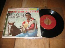Carl Smith EP.A1.Let's live a little.A2.Mr moon .(3722)