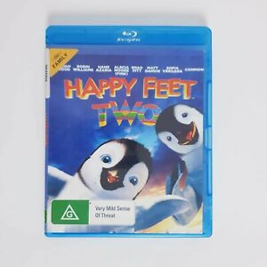 Happy Feet Two Bluray Movie Blu-ray Free Postage - Kids Family