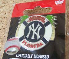 2011 NY New York Yankees Spring Training Florida lapel pin MLB
