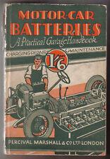 Motor Car Batteries Practical Garage H/B on battery charging & repair inc Radio