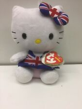 Hello Kitty Beanies Union Jack Soft Toy