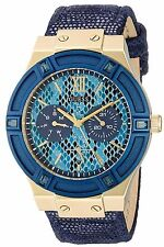 GUESS LADIES W0289L3 JETSETTER, MULTI FUNCTION WATCH, NEW/ TAGS/CASE