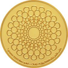 World Expo 2020 Dubai – 7 grams Gold Medallion - English