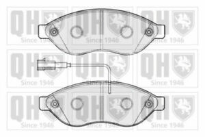 Brake Pads Set fits FIAT DUCATO 2.3D Front 2011 on F1AE3481G