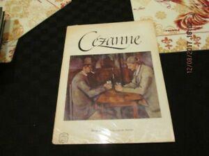 Vintage Cezanne: Abrams 1952 Art Book 16 Beautiful Full Color Prints Classic