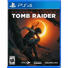 Shadow of the Tomb Raider Used Sealed (Sony PlayStation 4, 2018) Ps4
