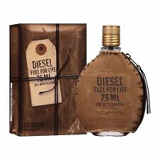 DIESEL FUEL FOR LIFE FOR MEN 2.5oz EDT SPRAY NIB