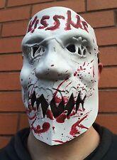 Máscara de The Purge 3 Kiss Me Halloween Elaborado Vestido de Disfraz de látex de 1, 2 año de elecciones
