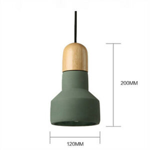 Modern Color Mud LED Pendant Light Ceiling Lamp Chandelier LOFT For Bar Lighting