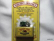 MASSEY HARRIS TRACTOR no. 4 Matchbox Originals Limited Edition MOC