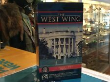 THE WEST WING : SEASON 1 BOX 1 -  6 X VHS TAPES BOX SET  RATED PG - (127061 K)