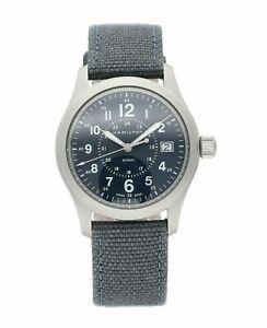Hamilton Khaki Field Canvas Strap 38mm Quartz Men's Watch H68201943
