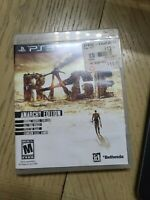 Sony PlayStation 3 PS3 Rage Anarchy Edition Game Disc Complete CIB w/Box,Manual