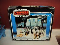 STAR WARS VINTAGE ESB HOTH ICE PLANET CANADIAN KENNER CANADA EMPTY BOX ONLY 1980