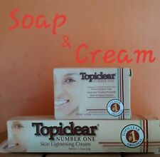 Topiclear Number One Cream 1.76 oz & Number One Soap 3.0 oz