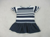 Vineyard Vines Shirt Womens Extra Small Blue White Striped Casual Whale Ladies *