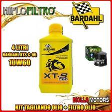Kit Tagliando 4lt Olio Bardahl XTS 10w60 Suzuki Gsx-r1000 K9 L0 L1 1000cc 2009-2