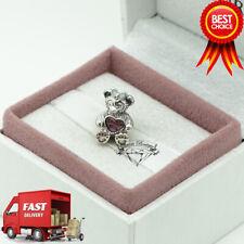 Pandora, Disney, ShellieMay, Teddy Bear, Bracelet Charm, 792130ENMX