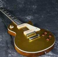 G-1959's Gold Top LP Electric Guitar P90 Pickups Nature Back&Side Good Quality