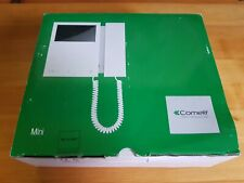 Comelit 6701W Colour Monitor with Mini Handset, Simplebustop System, White