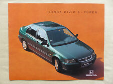 Honda Civic 5-puertas-folleto brochure 10.1994