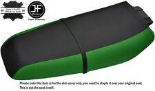 BLACK & GREEN CUSTOM FITS KAWASAKI ZXi 1100 900 96-02 VINYL SEAT COVER + STRAP