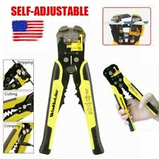 Automatic Wire Stripper Cutter Crimper Cable Stripping Pliers Terminal Hand Tool