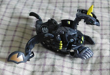 BAKUGAN New Vestroia Bakusteel Black Darkus Battle Damaged VIPER HELIOS 650g