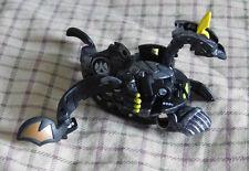 BAKUGAN New Vestroia Bakusteel Black Darkus Battle Damaged VIPER HELIOS 650g