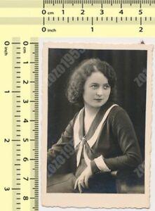 1933 Fashionable Girl Woman Lady Female Portrait Fashion vintage photo original