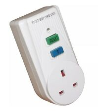 Eurosonic Power Circuit Breaker Socket Plug In Safety Switch RCD Uk