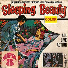 "Film Super 8: La Belle au Bois dormant ""Sleeping Beauty"""