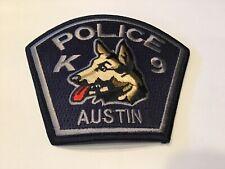 AUSTIN POLICE K 9 PATCH