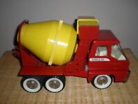 Vintage Structo Pressed Steel  Toy Cement Mixer Truck 1960's