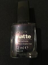 Avon Cosmetics Matte Nail Polish colour Inky Blue