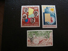 CONGO (brazzaville) - timbre - yvert et tellier aerien n° 18 a 20 n** (A7) stamp
